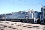 NS 4000 heading for paint at Juniata